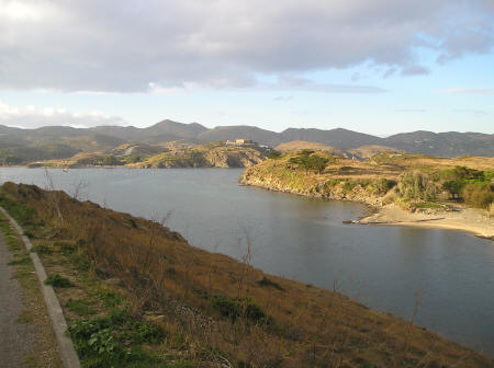 Hills of Catalonia north of Cadaques Spain