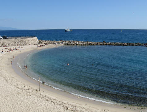 Beach on the Mediterranean Sea